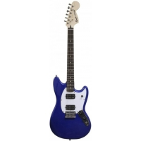Squier Bullet Mustang HH, Imperial Blue, Slight Cosmetic Damage