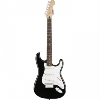 Squier Bullet Stratocaster Electric Guitar with HT Hard Tail in Black