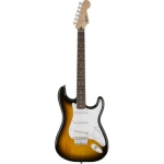 Squier Bullet Stratocaster Electric Guitar with HT Hard Tail, Sunburst