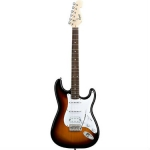 Squier Bullet Strat with Tremolo HSS, Brown Sunburst
