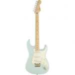 Squier Deluxe Stratocaster, Daphne Blue