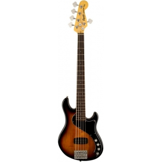 Squier Deluxe Dimension Bass V, 3 Colour Sunburst