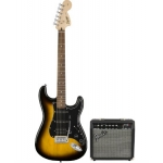 Squier Affinity Series Stratocaster HSS Pack in Brown Sunburst