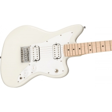Squier Mini Jazzmaster HH, Olympic White 3/4 Size Electric Guitar