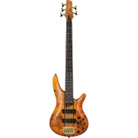 Ibanez SR805 5-String Bass, Amber