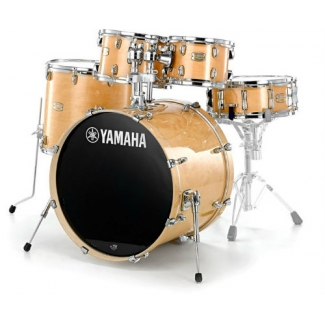 Yamaha Stage Custom Birch Shell Pack With Hardware In Natural Lacquer