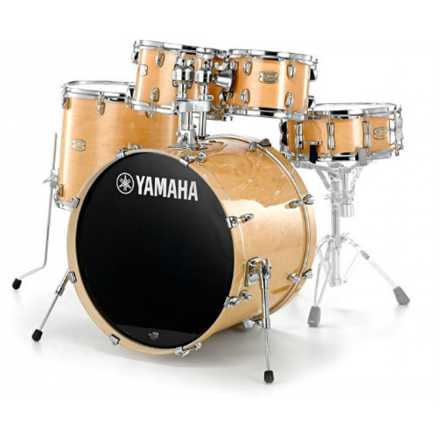 yamaha stage custom birch shell pack with hardware in natural lacquer at promenade music. Black Bedroom Furniture Sets. Home Design Ideas