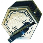 Stagi W15E Anglo C/G Concertina With 30 Keys In Black (GR4703)