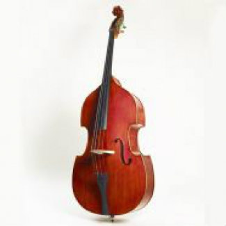 Stentor 3/4 Graduate Double Bass Outfit with Cover & Bow (#1420C)
