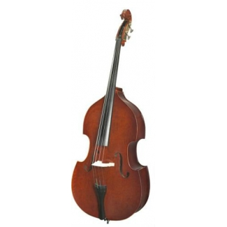 Stentor 3/4 Conservatoire Double Bass Outfit with Cover & Bow (#1439C)