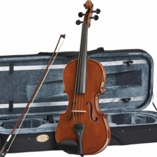 "15"" Stentor Conservatoire Viola Outfit With Bow, Oblong Case & Rosin #1551P"