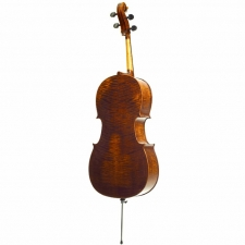 Full-size Stentor Arcadia Highly Figured Cello With Bow & Hiscox Case #1596A