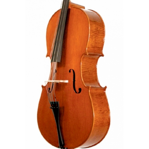 Full-size Stentor Elysia 'English Style' Cello With Bow & Hiscox Case #1594A