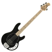 MusicMan Stingray 4 String Bass with 3 band EQ in Black