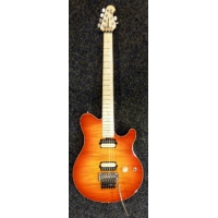 MusicMan Axis Electric Guitar, Cherry Burst