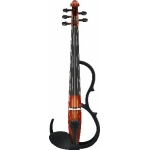 Yamaha SV255 Silent 5 String Violin In Brown With Pro Pick-Up