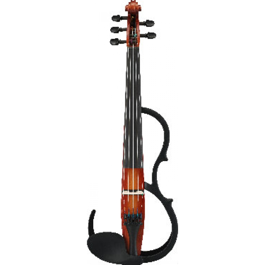 Yamaha sv255 silent violin yamaha sv 255 electric violin for Yamaha svc 110sk silent electric cello brown