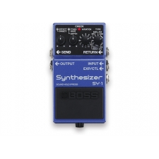Boss SY1 Synthesizer Pedal. The Polyphonic Guitar Synth in a Compact Pedal