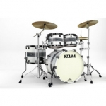 Tama Starclassic Bubinga Silver Snow Racing Stripe, Secondhand