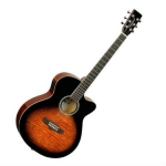 Tanglewood TLSFCE Liberty Electro Acoustic in Sunburst, Secondhand