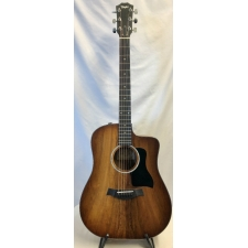 Taylor 220ce K DLX Electro Acoustic Guitar, Shaded Edgeburst, Secondhand