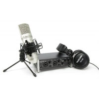 Tascam TrackPack 2x2 Recording Bundle