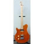 Music Man Axis Super Sport, Trans Flame Gold, LEFTHANDED