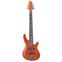 Yamaha TRB1006J 6 String Bass, Caramel Brown