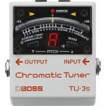 Boss TU3S Chromatic Tuner (Small Version of TU3)