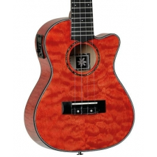Tanglewood TWT 25 E Tuscan Concert Ukulele, Sunset Red Gloss