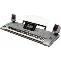 Yamaha Tyros 5 61 Note Keyboard & Tyros5 Speakers