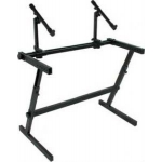 Quiklok Z726L Double Keyboard Z Stand