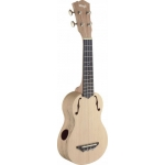 Stagg USX SPA S Soprano Ukulele Spalted Maple