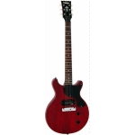 Vintage V130 CRS Electric Guitar in Satin Cherry