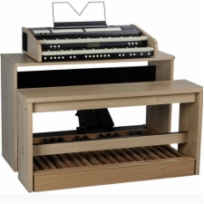 Viscount Cantorum Duo Organ With Pedalboard, Stand, Bench & Volume Pedal