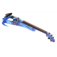 Ted Brewer Vivo 2 Electric Violin 5 String (Available In Clear, Purple or Blue)