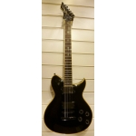 Washburn WI50 Pro-E Healey Metal Electric Guitar with EMG Pick-ups in Black