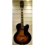 Guild X150 USA Jazz Guitar In Sunburst With Case, Secondhand