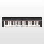 Yamaha P121 Portable Digital Piano, Black