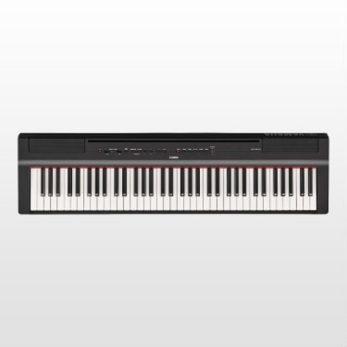 Yamaha P121 Portable Digital Piano in Black (With Built-In Speakers)
