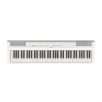 Yamaha P121 Portable Digital Piano, White (With Built-In Speakers)