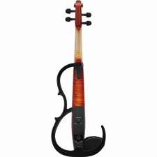 Yamaha SV250 4-String Electric Silent Violin in Brown With Pro Pick-Up