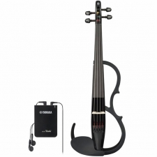 Yamaha YSV104 4-String Silent Violin in Black