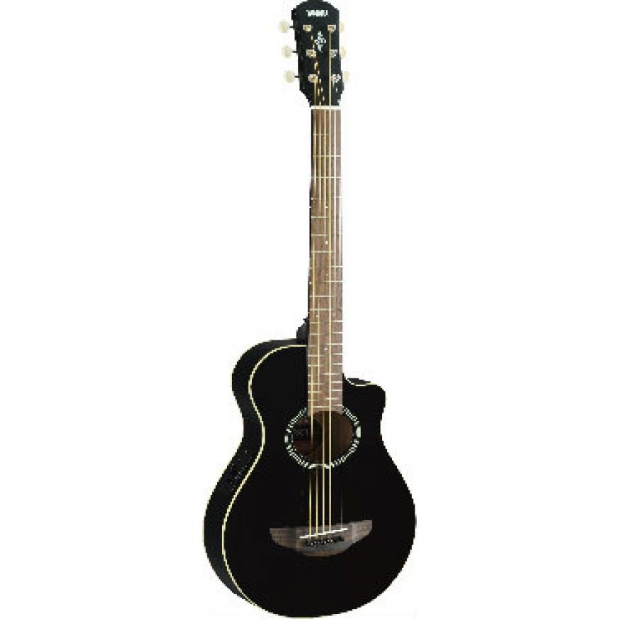 yamaha apxt2 mini electro acoustic guitar black at promenade music. Black Bedroom Furniture Sets. Home Design Ideas
