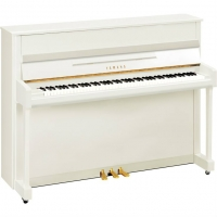 Yamaha B2 Upright Piano in Polished White (B2EPWH)