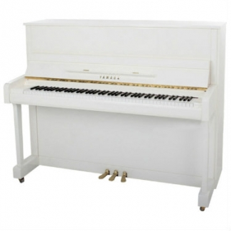 Yamaha B3 Upright Piano In Polished White (B3EPW)