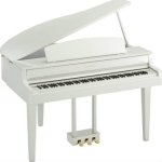 Yamaha CLP565GP Digital Grand Piano, Polished White