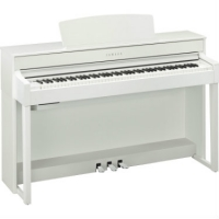 Yamaha CLP575 in White With Free Headphones & Yamaha Stool