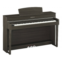 Yamaha CLP645 Clavinova Digital Piano, Dark Walnut