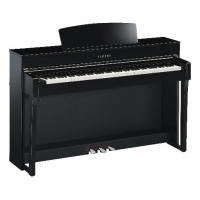 Yamaha CLP645 Clavinova Digital Piano in Black Polished Ebony (CLP645PE)